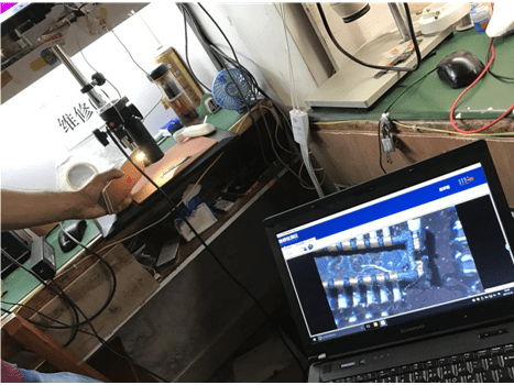 QIANLI Thermal Imager Camera for Mobile Phone PCB Troubleshoot