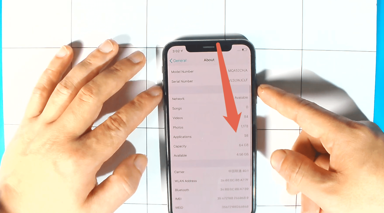 Details of iPhone X 64G to 256G Update Memory
