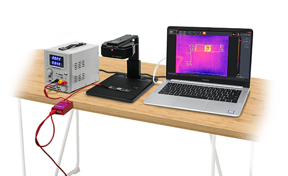 Thermal Imager for Mobile Phone PCB Troubleshoot