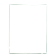 Replacement for iPad 2 LCD Screen Supporting Frame White