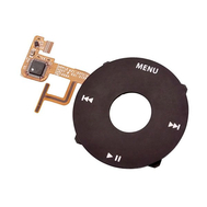 Replacement For iPod Video Click Wheel Black