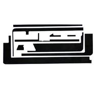 Black Adhesive Strips for iPad 2 Screen