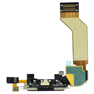 Replacement For iPhone 4S Black Dock Connector Flex Cable