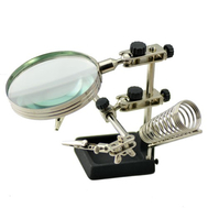 Magnifying Glass with Clips #Best 268