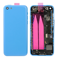 Replacement for iPhone 5C Back Cover Full Assembly - Blue