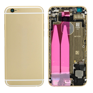 Replacement for iPhone 6 Back Cover Full Assembly - Gold
