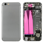 Replacement for iPhone 6 Back Cover Full Assembly - Gray