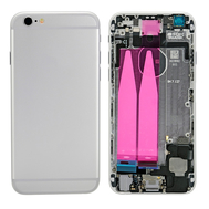 Replacement for iPhone 6 Back Cover Full Assembly - Silver