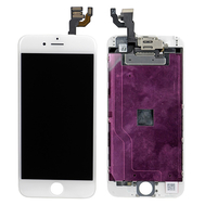 Replacement for iPhone 6 LCD Screen Full Assembly without Home Button - White