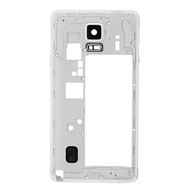 Replacement for Samsung Galaxy Note 4 N910T Rear Housing Frame White