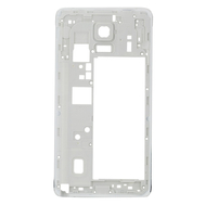 Replacement for Samsung Galaxy Note 4 N910T Rear Housing Frame Without Small Parts White