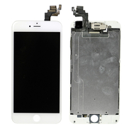 Replacement for iPhone 6 Plus LCD Screen Full Assembly without Home Button - White