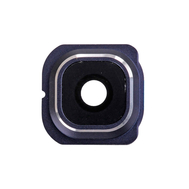 Replacement for Samsung Galaxy S6 Edge Series Rear Facing Camera Lens and Bezel - Sapphire