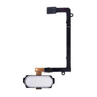Replacement for Samsung Galaxy S6 Edge SM-G925 Home Button Flex Cable - White