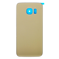 Replacement for Samsung Galaxy S6 Edge SM-G925A Battery Door With Adhesive Gold