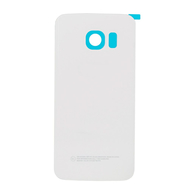 Replacement for Samsung Galaxy S6 Edge SM-G925 Battery Door With Adhesive White