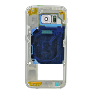 Replacement for Samsung Galaxy S6 G920F Rear Housing Assembly - Silver