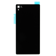Replacement for Sony Xperia Z3 Battery Door - Black - With Sony and Xperia Logo