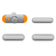 Replacement for iPad mini 3 / iPad Air Side Buttons Set Silver