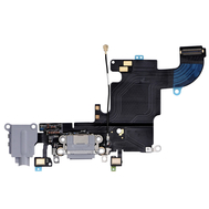 Replacement for iPhone 6S Headphone Jack with Charging Connector Flex Cable - Dark Grey