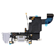 Replacement for iPhone 6S Headphone Jack with Charging Connector Flex Cable - Light Grey