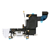 Replacement for iPhone 6S Headphone Jack with Charging Connector Flex Cable - White