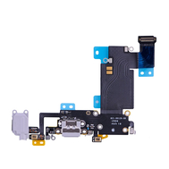 Replacement for iPhone 6S Plus Headphone Jack with Charging Connector Flex Cable - Light Grey