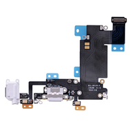 Replacement for iPhone 6S Plus Headphone Jack with Charging Connector Flex Cable - White