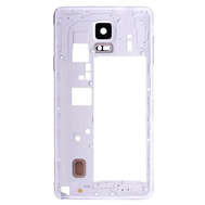 Replacement for Samsung Galaxy Note 4 N910V/910P Rear Housing Frame White