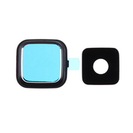 Replacement for Samsung Galaxy Note 4 SM-N910 Rear Camera Holder with Lens - Black