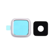 Replacement for Samsung Galaxy Note 4 SM-N910 Rear Camera Holder with Lens - White
