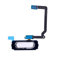 Replacement for Samsung Galaxy S5 Mini Series Home Button with Flex Cable Ribbon - White
