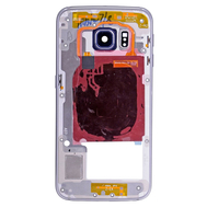 Replacement for Samsung Galaxy S6 Edge SM-G925 Rear Housing Assembly - Grey