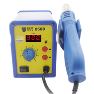 Single LED Displayer Leadfree Hot Air Gun with Helical Wind-Desolder Station-Hot Air # BST-858D