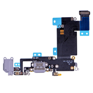 Replacement for iPhone 6S Plus Headphone Jack with Charging Connector Flex Cable - Dark Grey