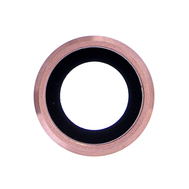 Replacement for iPhone 6S Plus Rear Camera Holder with Lens - Rose