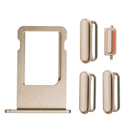 Replacement for iPhone 6S Side Buttons Set with SIM Tray - Gold