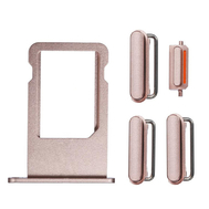 Replacement for iPhone 6S Side Buttons Set with SIM Tray - Rose