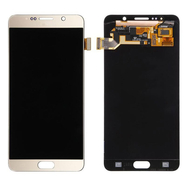 Replacement for Samsung Galaxy Note 5 SM-N920 LCD Screen and Digitizer Assembly Without Home Button - Gold