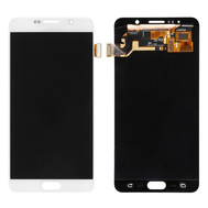 Replacement for Samsung Galaxy Note 5 SM-N920 LCD Screen and Digitizer Assembly Without Home Button - White