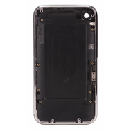 Replacement For iPhone 3G Back Cover with Metal Bezel Black