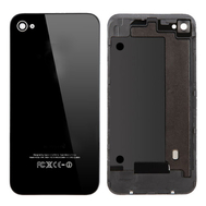Replacement For iPhone 4 Back Cover with Frame Black