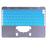 """Gray Upper Case (US English) for MacBook 12"""" Retina A1534 (Early 2015)"""