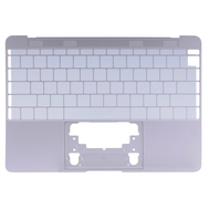 "Silver Upper Case (US English) for MacBook 12"" Retina A1534 (Early 2015)"