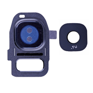 Replacement for Samsung Galaxy S7/S7 Edge Rear Camera Holder with Lens - Sapphire