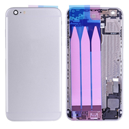 Replacement for iPhone 6 Plus Back Cover Full Assembly - Silver