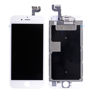 Replacement for iPhone 6S LCD Screen Full Assembly without Home Button - White