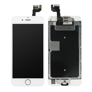 Replacement for iPhone 6S Plus LCD Screen Full Assembly with Gold Ring Home Button - White