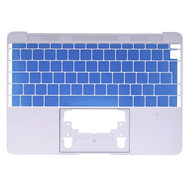 "Silver Upper Case (British English) for MacBook 12"" Retina A1534 (Early 2015)"