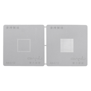 High Precision Split-type For iPhone A9 CPU BGA Reballing Stencil Template 0.12mm #Taiwan